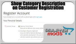Show Customer Group Description On Registration ..