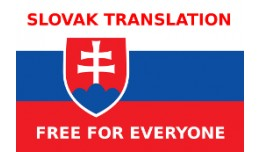 Slovak Translation / slovenský preklad