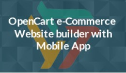 Opencart e-Commerce Website builder with Mobile ..