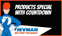 Products Specials PRO - With Countdown