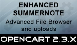 Enhanced Summernote File Browser & Uploader
