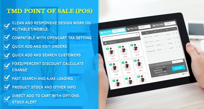 Opencart Point Of Sale