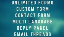 iForm Builder/Creator Custom Contact Us, Product..