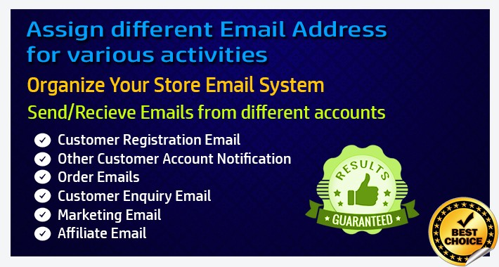 Organize Email Accounts