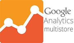 Google analytics for multistore