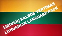 Lithuanian (Lietuvių) language pack 3.0.2.1