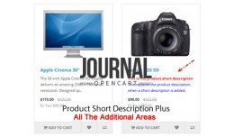 Product Short Description Plus - Journal Theme