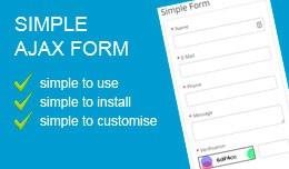 Simple Ajax Form