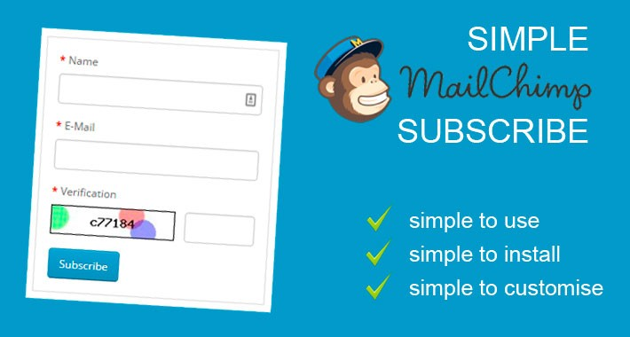 Simple Mailchimp Subscribe