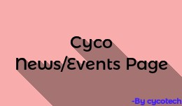 Cyco News/Event Page for OC