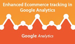 Enhanced Ecommerce tracking by Google Analytics