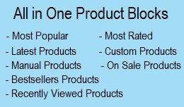 All in One Product Blocks