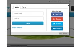 Awesome Login, Signup, Facebook, Google, Twitter..