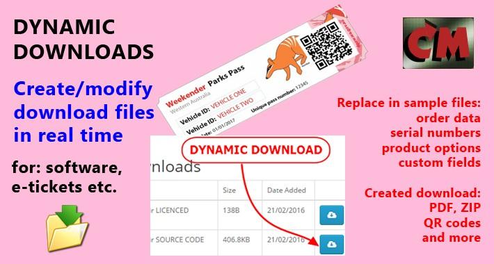 Dynamic Downloads