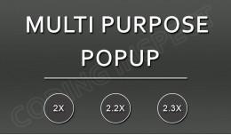 Multi Purpose Popup