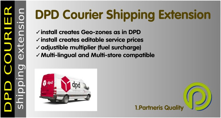 DPD Courier Shipping Extension for OpenCart 2.x
