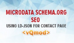 Microdata Schema.org SEO using ld-json for conta..