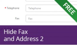 Hide Fax and Address 2