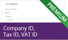 Company ID, Tax ID, VAT ID