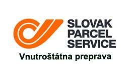 Slovak Parcel Service - vnútroštátna preprava