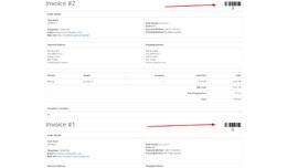 Invoice Bar-code Generator for opencart 2.x [OCM..