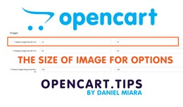 Product - option image size / The size of image ..