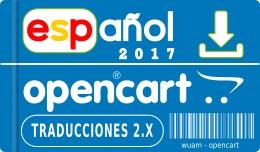 ✔ Spanish opencart 2.3.0.2 - 2.2.0.0 2.1.0.2 -..
