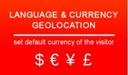 Language and Currency Geolocation