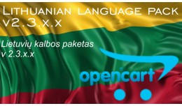Lithuanian language pack OC 2.3.x.x