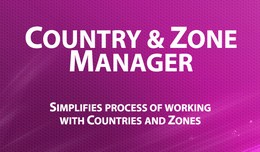 Country Zone Manager - comfortable work with zon..