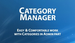 Category Manager - Admin Management & Filter..