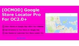 [OCMOD]Google Store Locator Pro for OC2.0+