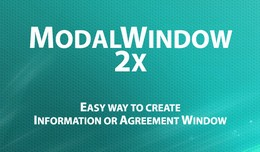 Modal Window 2x - Information & Agreement Po..