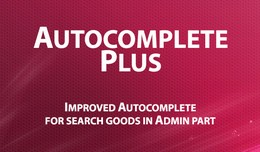 Autocomplete Plus - advanced Admin autocomplete ..
