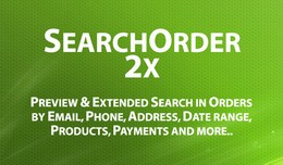 SearchOrder 2x - Preview and Extended Search in ..