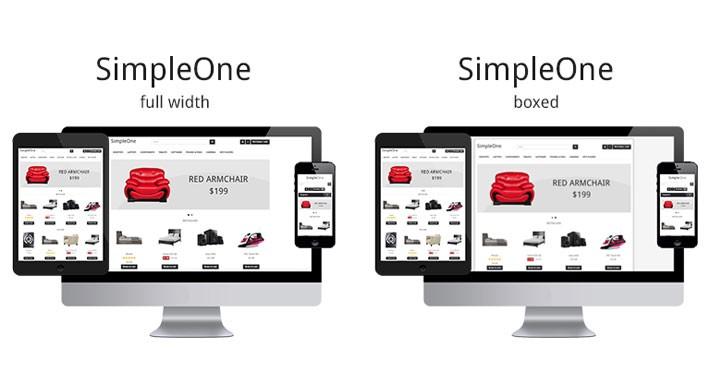 SimpleOne - Multipurpose Opencart Theme