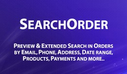 SearchOrder - Quick view and Extended Search in ..