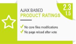 Product ratings (VQMod / OCMod /  jQuery / AJAX)