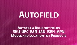AutoField - autofill and bulk rewrite fields Mod..