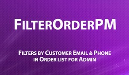 FilterOrderPM - find orders by customer mail &am..