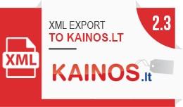 XML prekių eksportas į kainos.lt / XML export ..