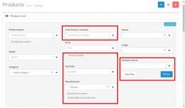 Slasoft EAPF Extend Admin Product Filter (OC ver..
