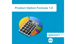Product Option Formula 1.0 OpenCart