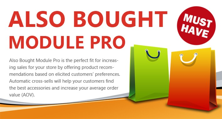 Also Bought Module Pro - Automatic and Intelligent Cross-Sells