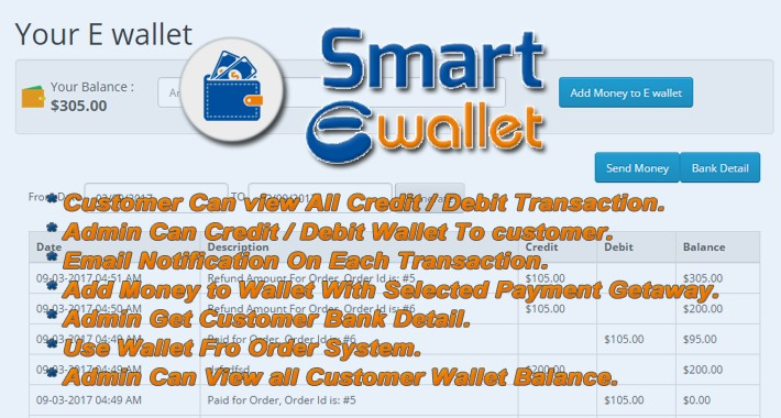 Smart E-wallet System