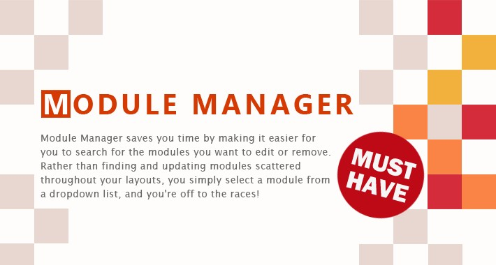 Module Manager - Save you time on your module assignments