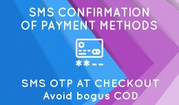 ✔ SMS Confirmation of Payment Methods - Anti f..