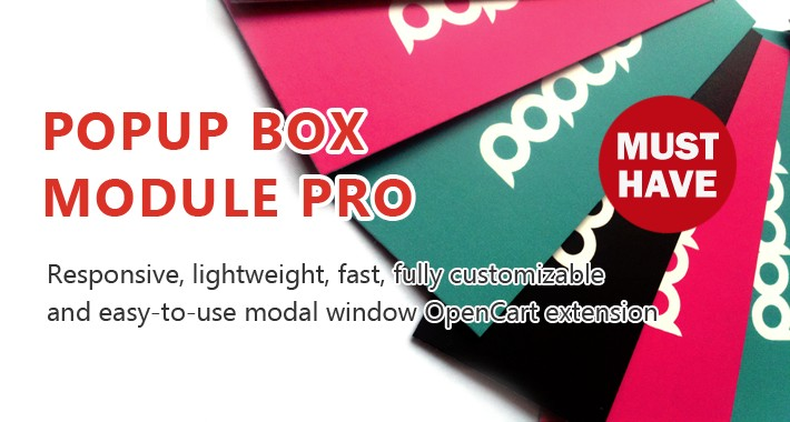 Popup Box Module Pro - Perfect tool for professional popups