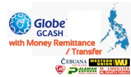 Gcash Payment with Money Remittance/Transfer