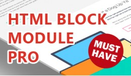 HTML Block Module Pro - Add HTML blocks anywhere!